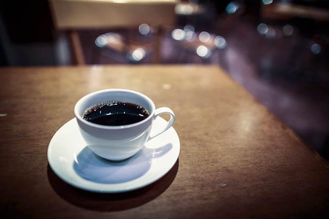 コーヒー、夜