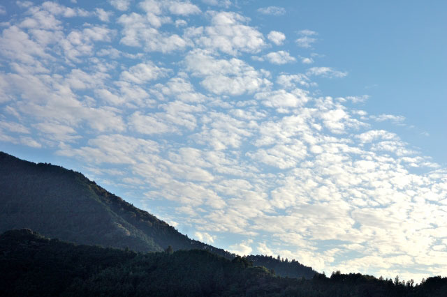 山とうろこ雲